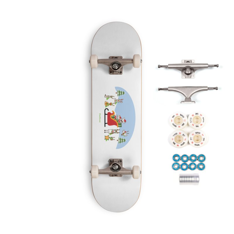 Santa Paws & Reindeer Accessories Complete - Premium Skateboard by PawBoost's Shop