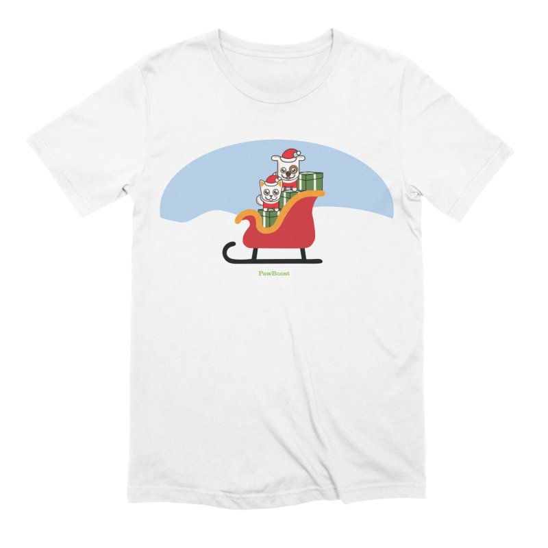 Santa Paws Men's Extra Soft T-Shirt by PawBoost's Shop