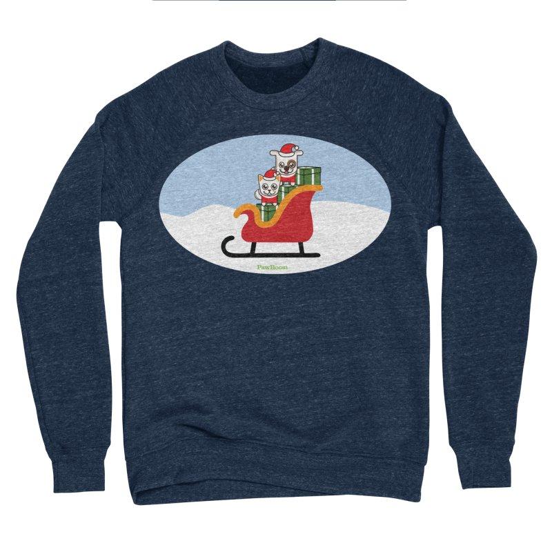 Santa Paws Women's Sponge Fleece Sweatshirt by PawBoost's Shop