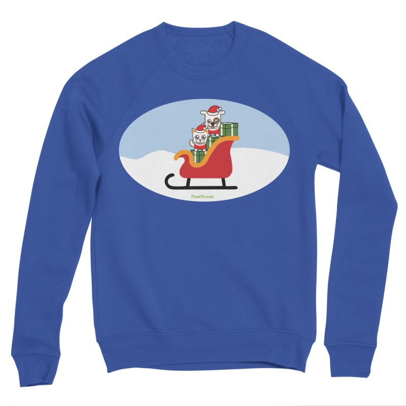 Santa Paws Men's Sweatshirt by PawBoost's Shop