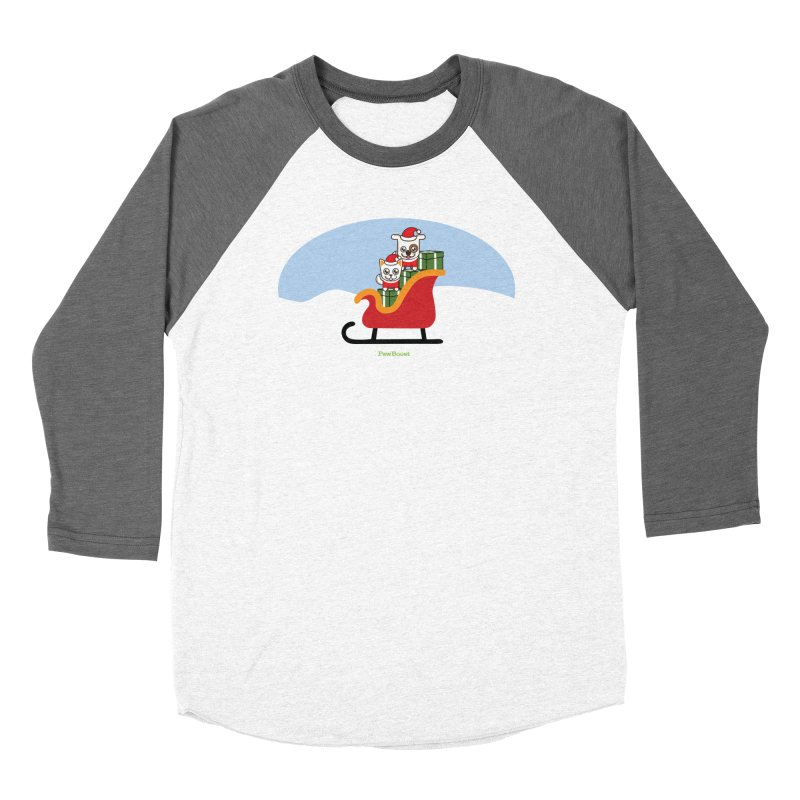 Santa Paws Women's Longsleeve T-Shirt by PawBoost's Shop