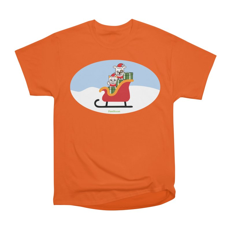 Santa Paws Men's T-Shirt by PawBoost's Shop