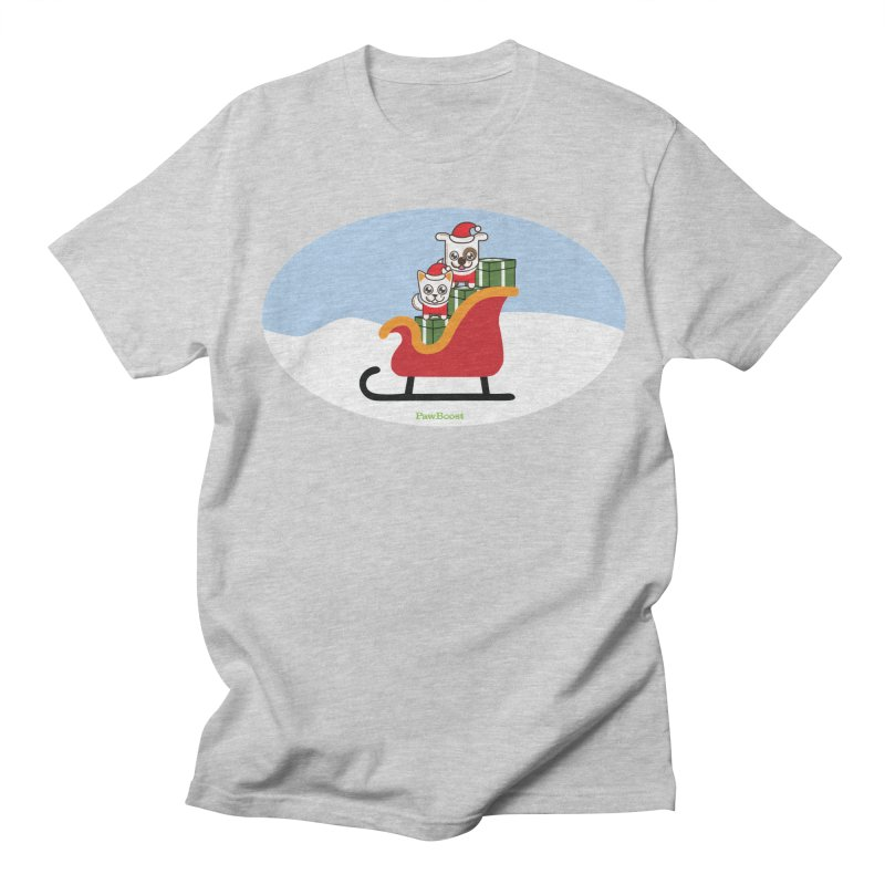 Santa Paws Women's Regular Unisex T-Shirt by PawBoost's Shop