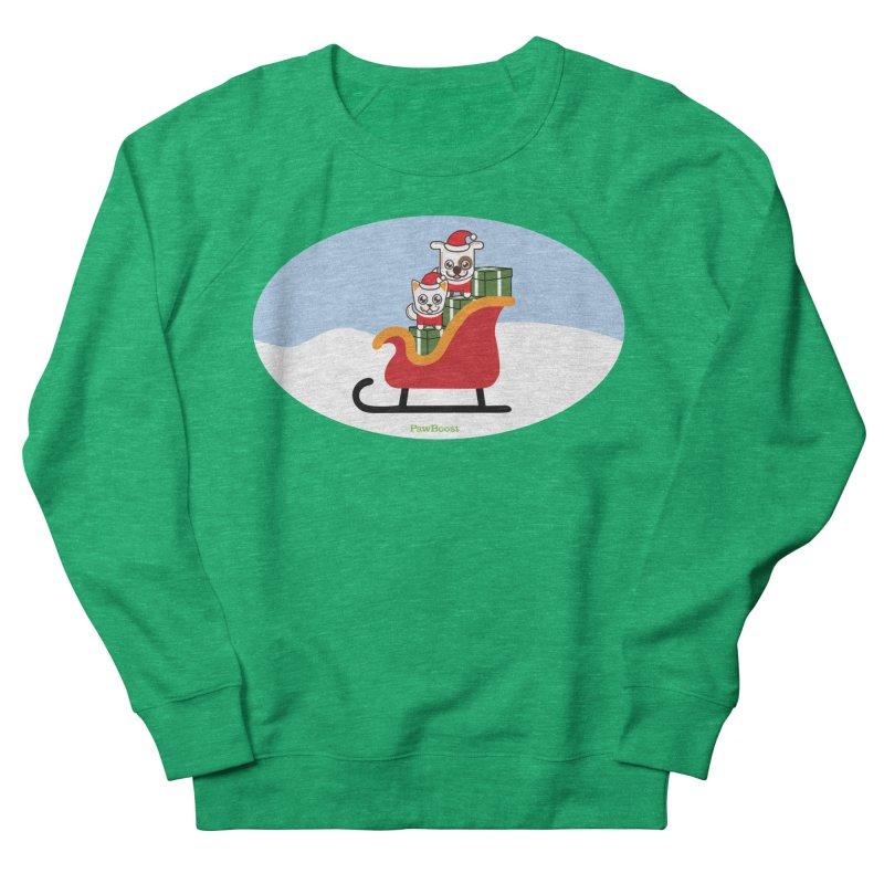 Santa Paws Women's Sweatshirt by PawBoost's Shop