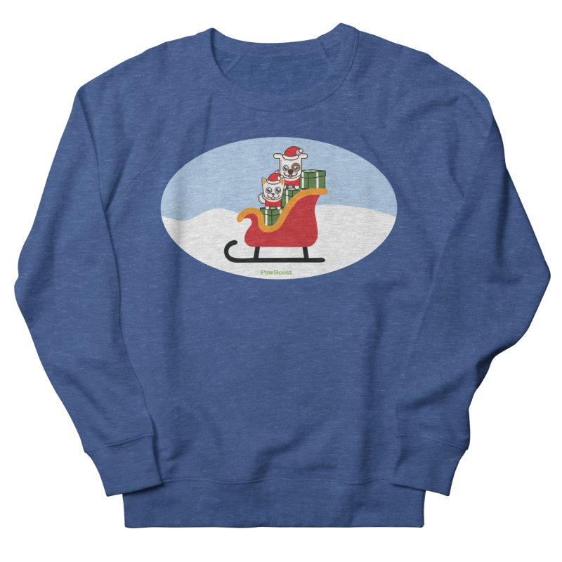 Santa Paws Men's Sweatshirt by PawBoost's Shop