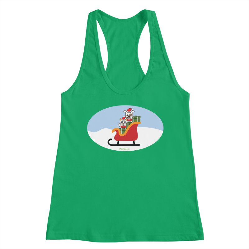 Santa Paws Women's Tank by PawBoost's Shop