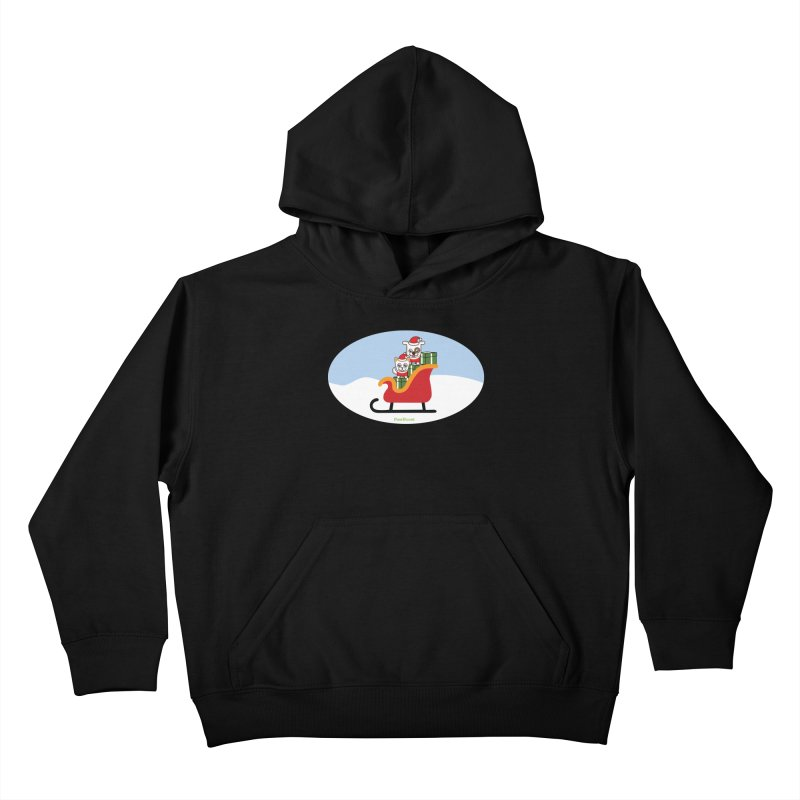 Santa Paws Kids Pullover Hoody by PawBoost's Shop