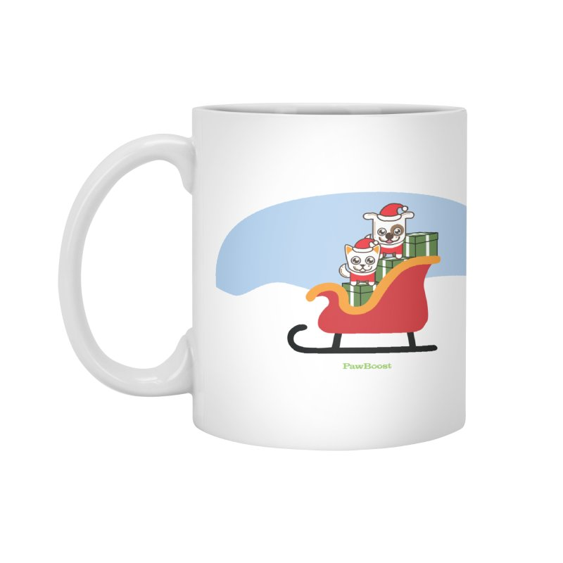 Santa Paws Accessories Mug by PawBoost's Shop