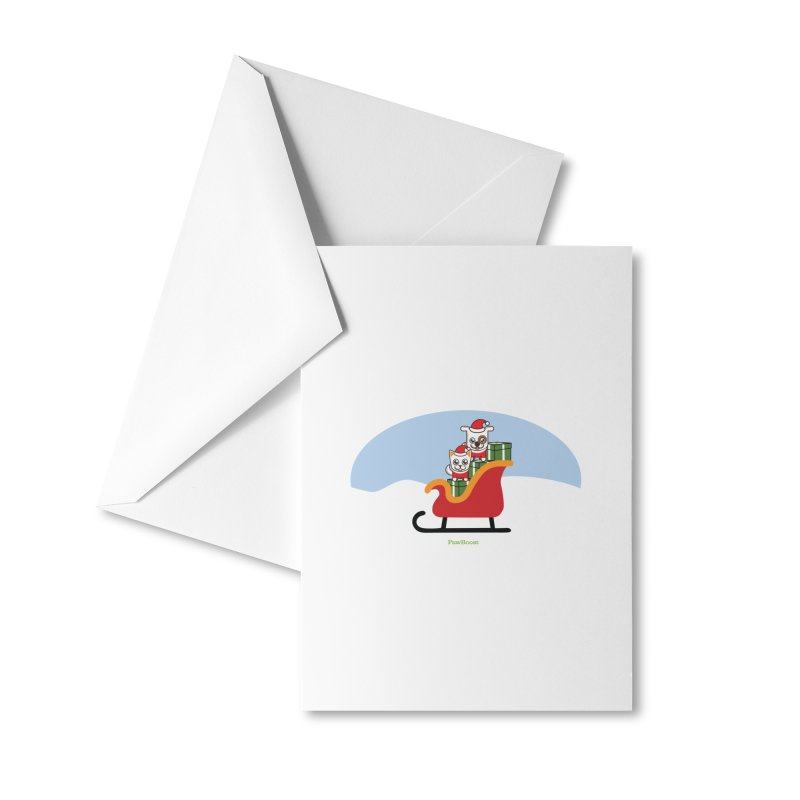 Santa Paws Accessories Greeting Card by PawBoost's Shop