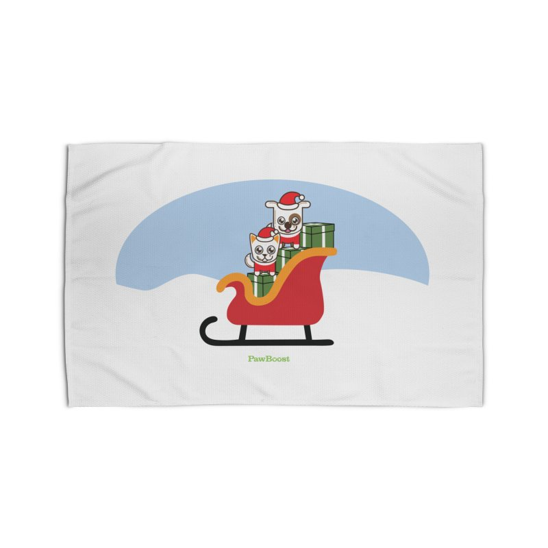 Santa Paws Home Rug by PawBoost's Shop