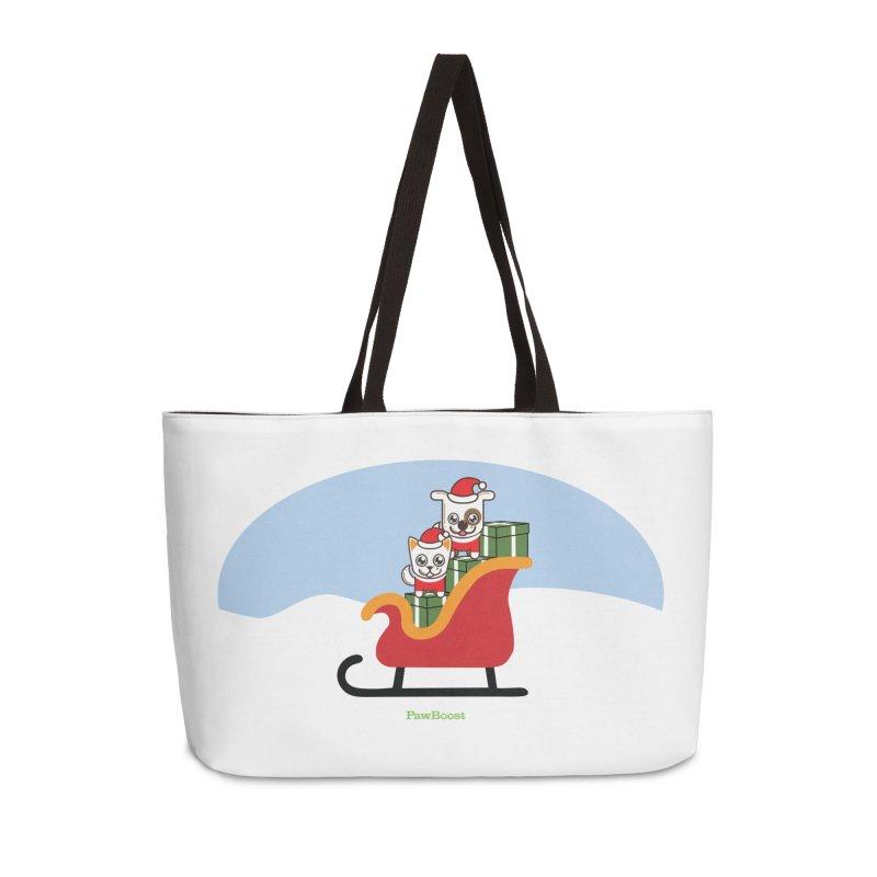 Santa Paws Accessories Weekender Bag Bag by PawBoost's Shop