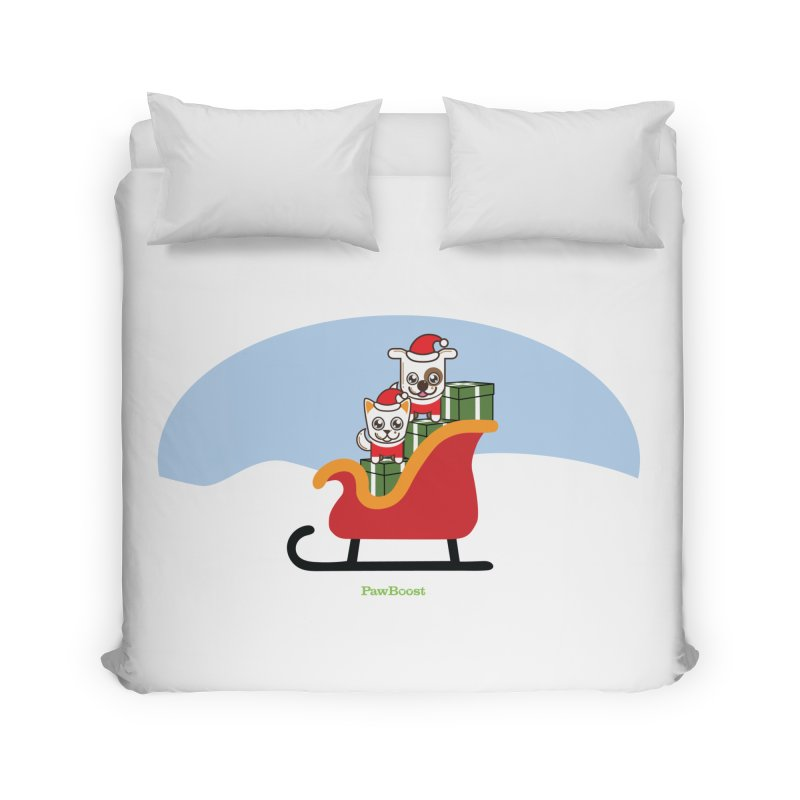 Santa Paws Home Duvet by PawBoost's Shop
