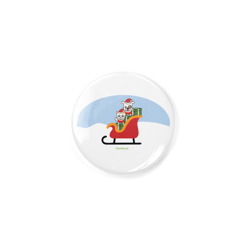 Santa Paws Accessories Button by PawBoost's Shop