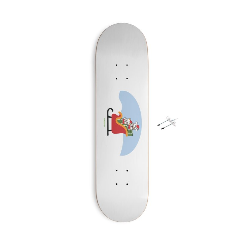 Santa Paws Accessories With Hanging Hardware Skateboard by PawBoost's Shop