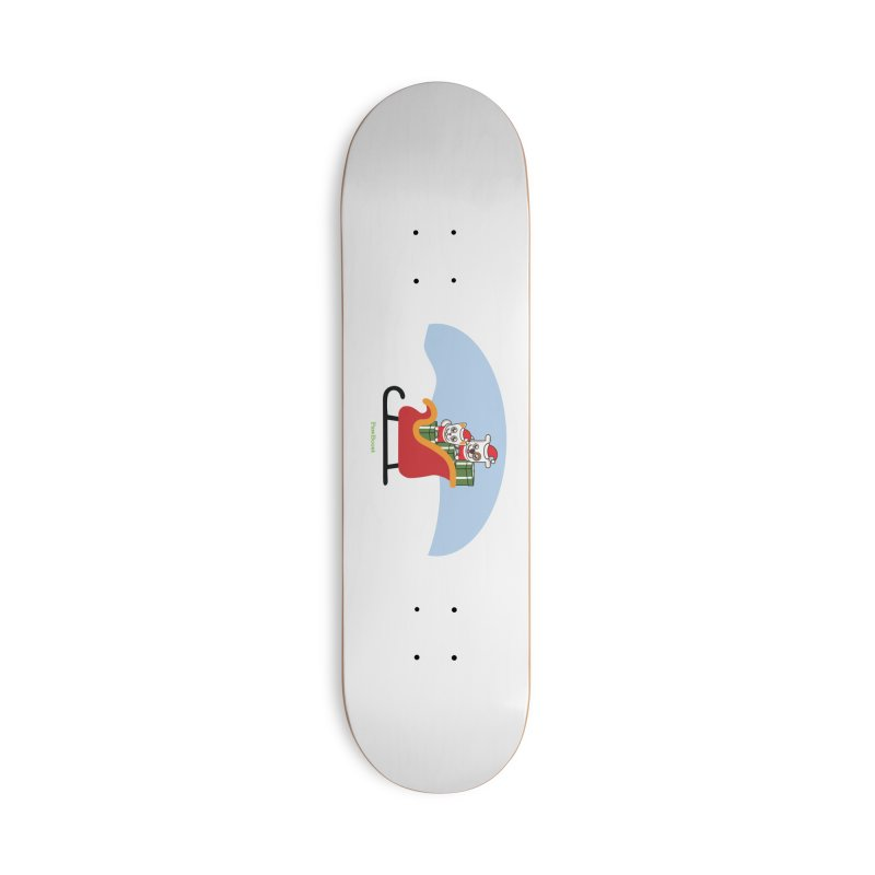 Santa Paws Accessories Deck Only Skateboard by PawBoost's Shop