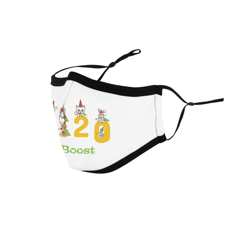 Hello 2020! Accessories Face Mask by PawBoost's Shop