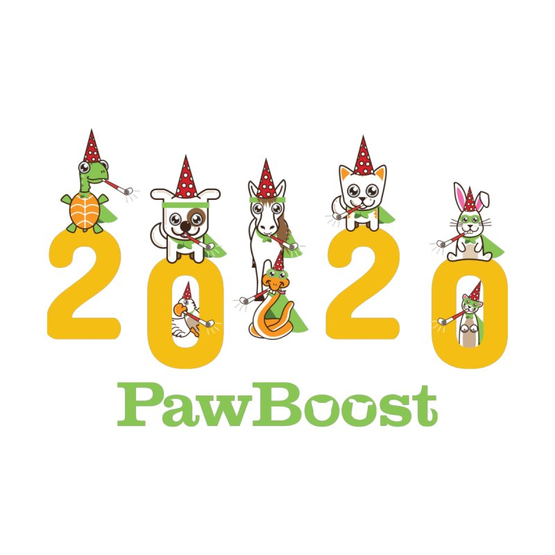 Hello 2020! Kids T-Shirt by PawBoost's Shop