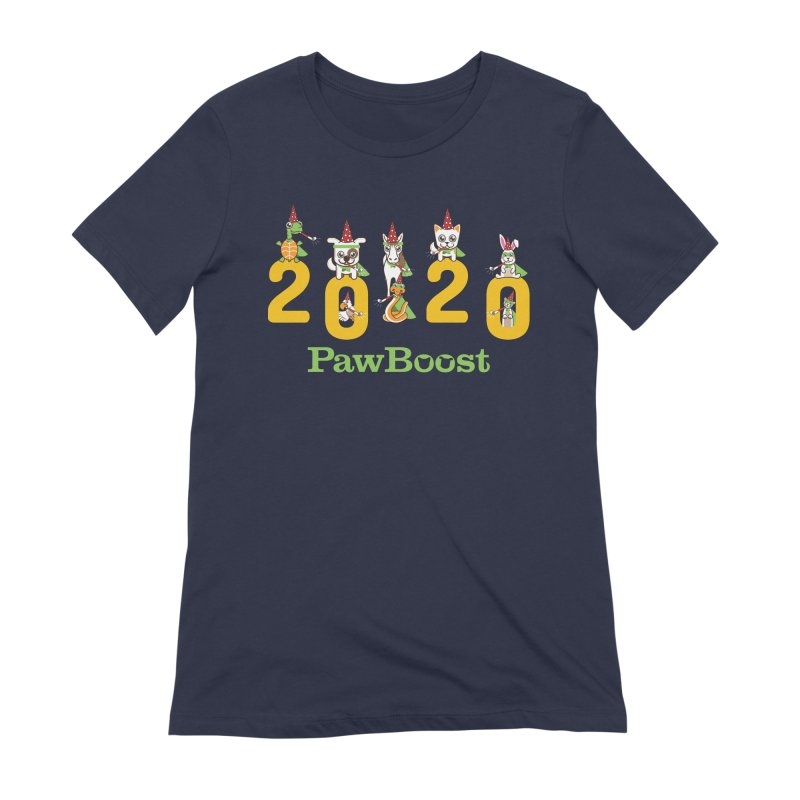 Hello 2020! Women's Extra Soft T-Shirt by PawBoost's Shop
