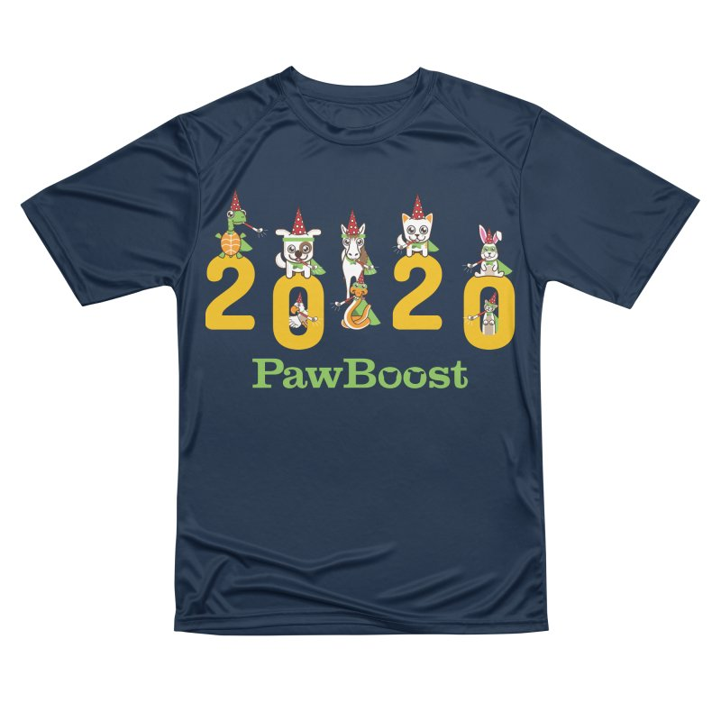Hello 2020! Women's Performance Unisex T-Shirt by PawBoost's Shop