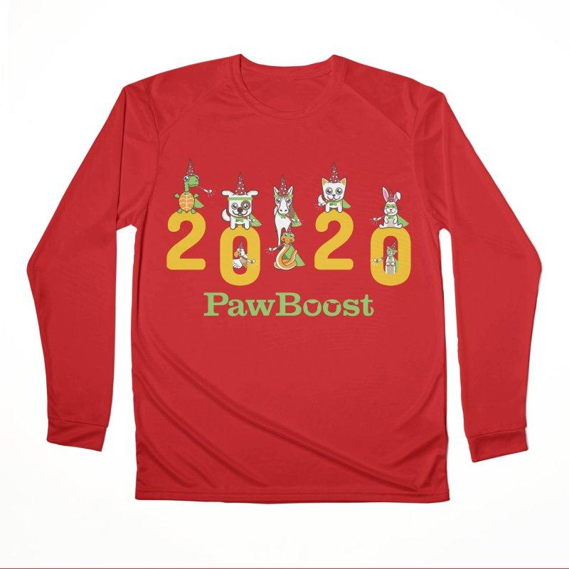 Hello 2020! Women's Performance Unisex Longsleeve T-Shirt by PawBoost's Shop