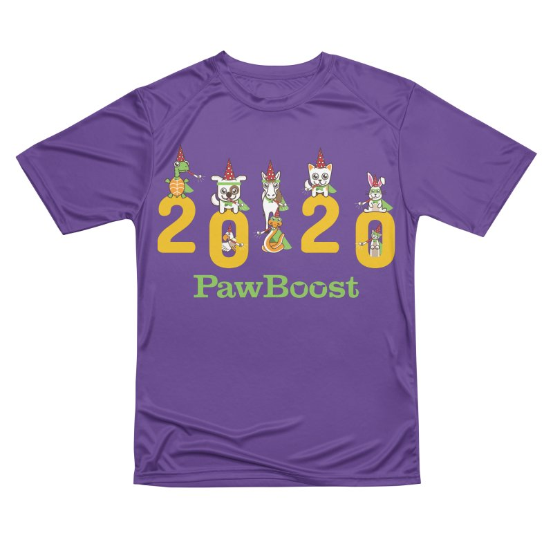 Hello 2020! Men's Performance T-Shirt by PawBoost's Shop