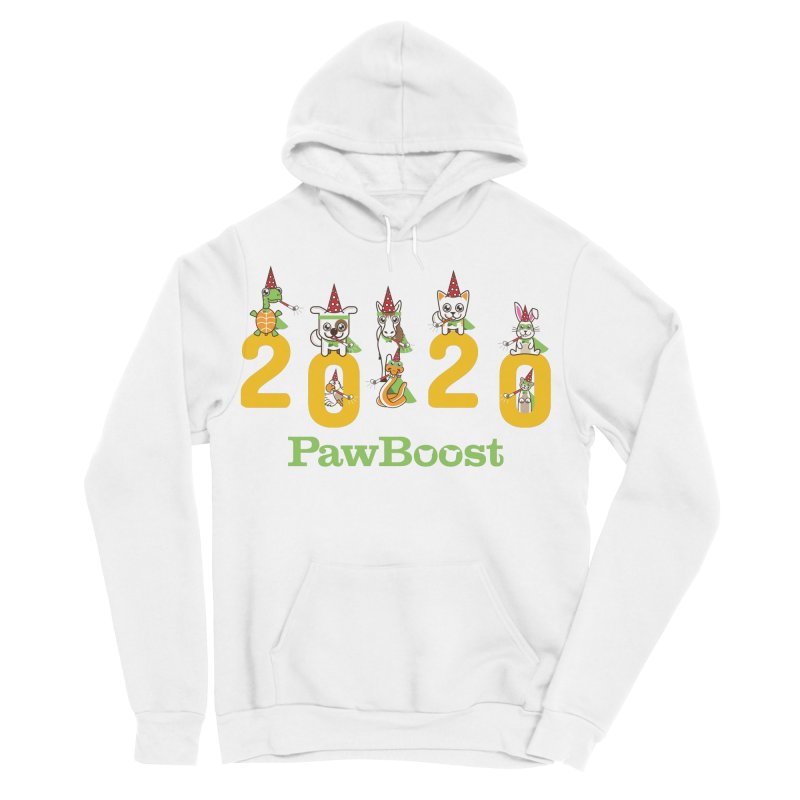 Hello 2020! Men's Sponge Fleece Pullover Hoody by PawBoost's Shop