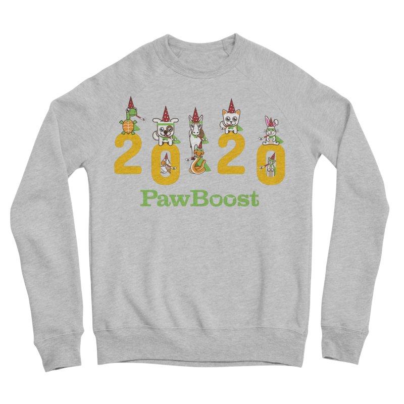 Hello 2020! Men's Sponge Fleece Sweatshirt by PawBoost's Shop