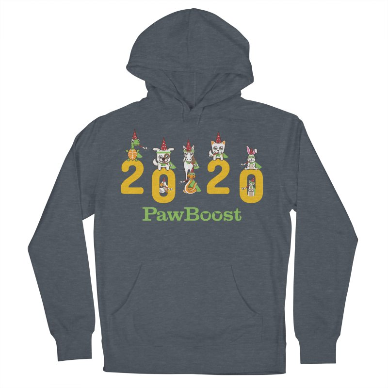 Hello 2020! Men's French Terry Pullover Hoody by PawBoost's Shop