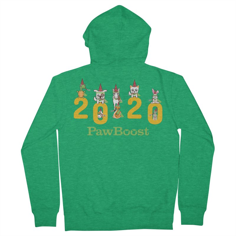 Hello 2020! Women's Zip-Up Hoody by PawBoost's Shop