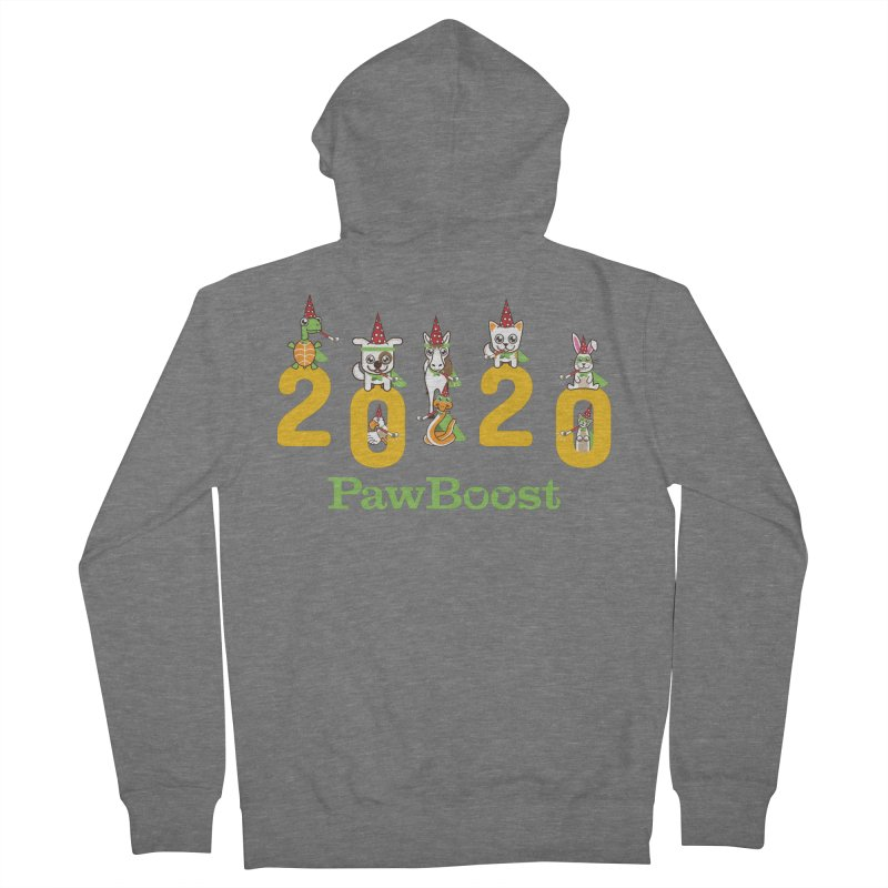 Hello 2020! Women's French Terry Zip-Up Hoody by PawBoost's Shop