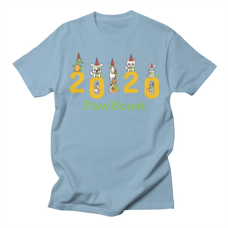 Hello 2020! Women's Regular Unisex T-Shirt by PawBoost's Shop
