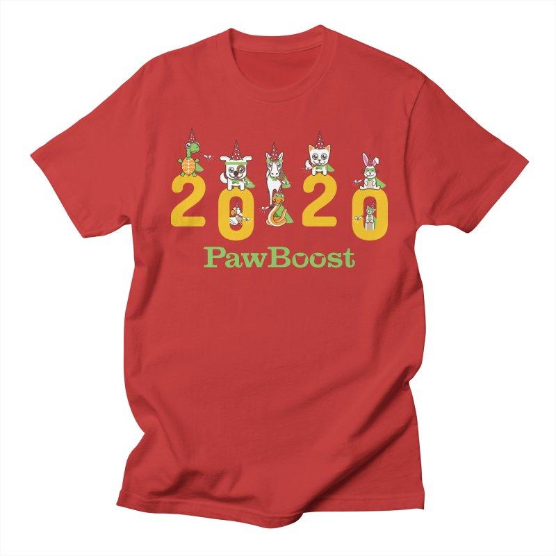 Hello 2020! Men's Regular T-Shirt by PawBoost's Shop