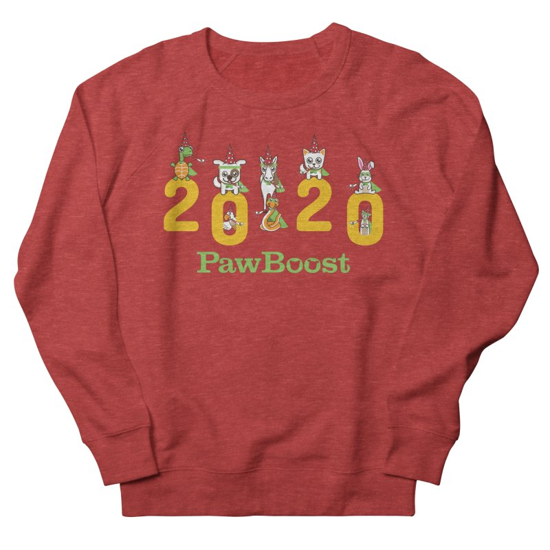 Hello 2020! Men's French Terry Sweatshirt by PawBoost's Shop