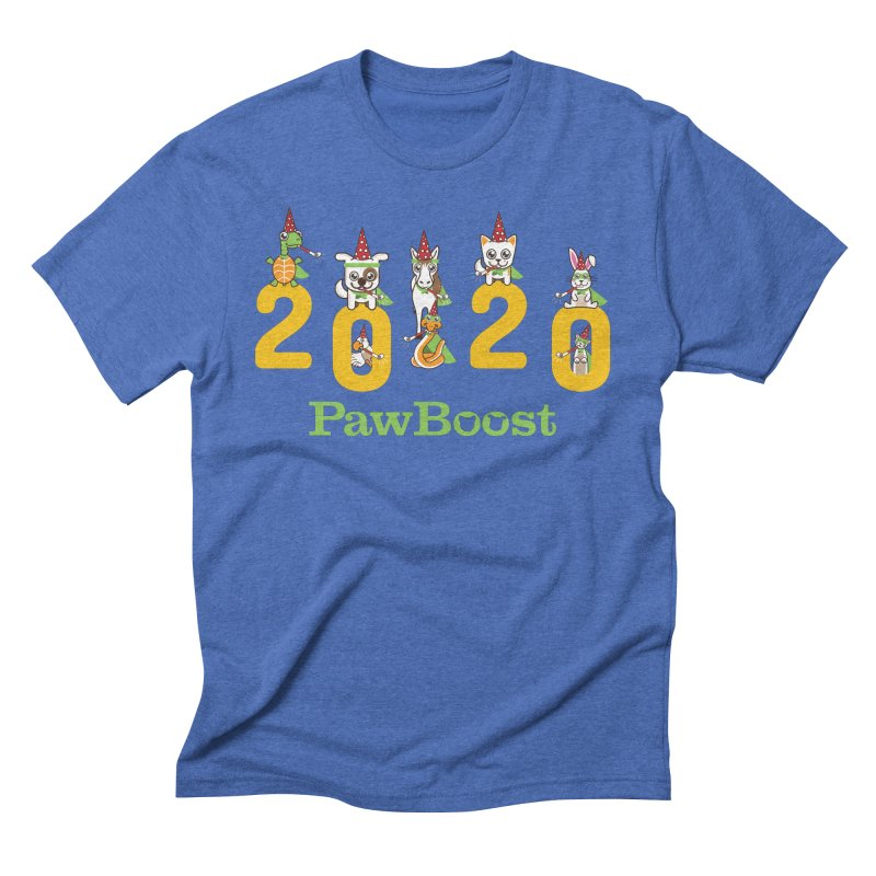 Hello 2020! Men's T-Shirt by PawBoost's Shop