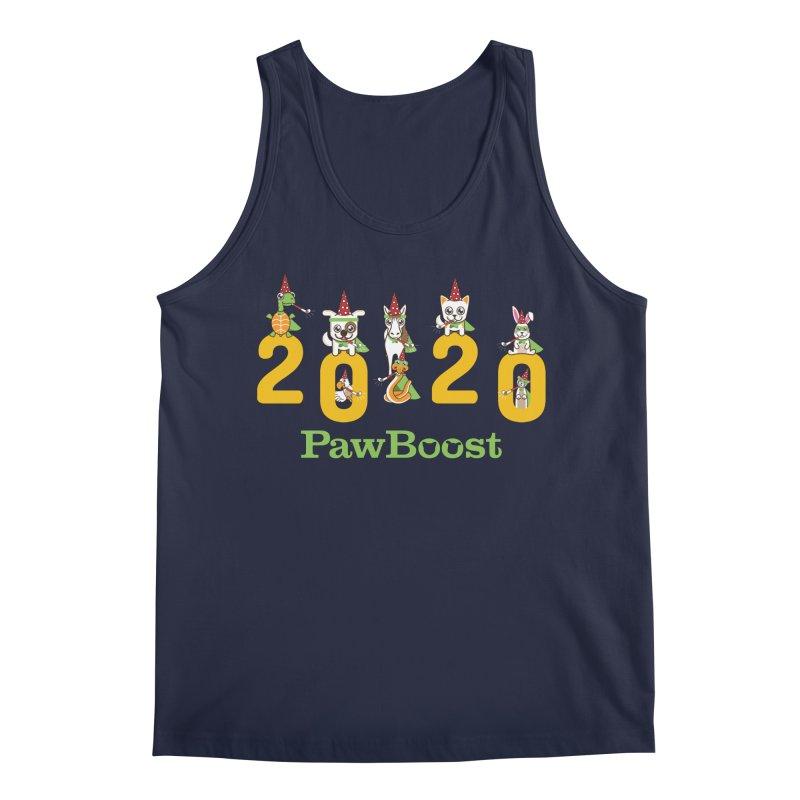 Hello 2020! Men's Regular Tank by PawBoost's Shop