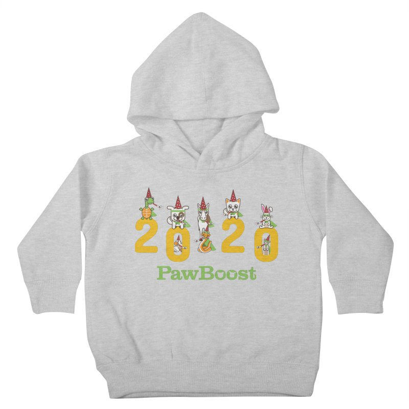 Hello 2020! Kids Toddler Pullover Hoody by PawBoost's Shop