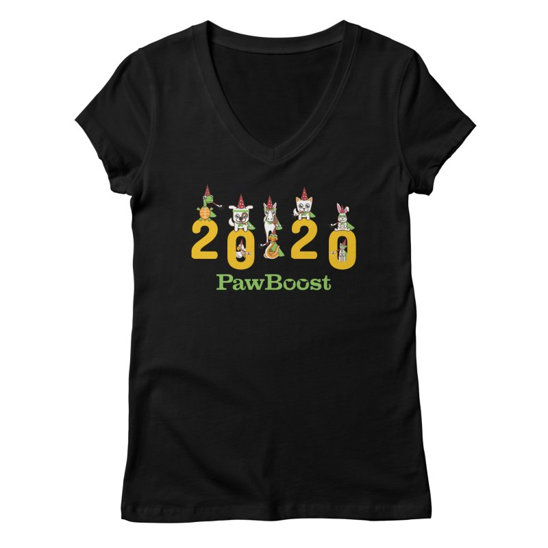 Hello 2020! Women's V-Neck by PawBoost's Shop