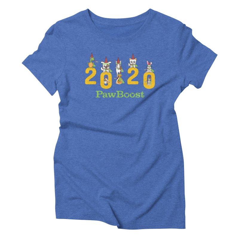 Hello 2020! Women's Triblend T-Shirt by PawBoost's Shop