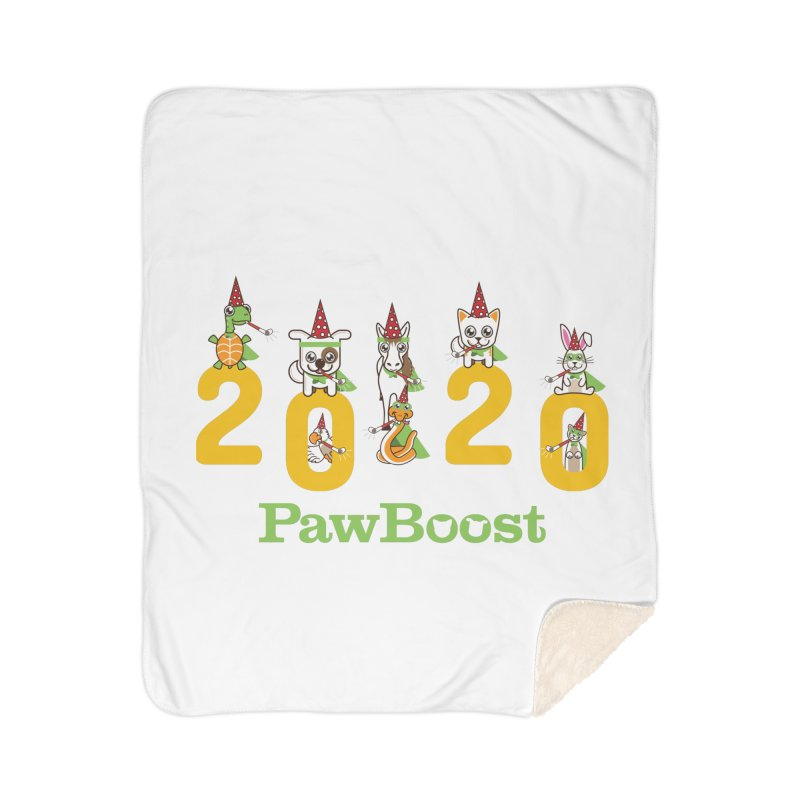 Hello 2020! Home Sherpa Blanket Blanket by PawBoost's Shop
