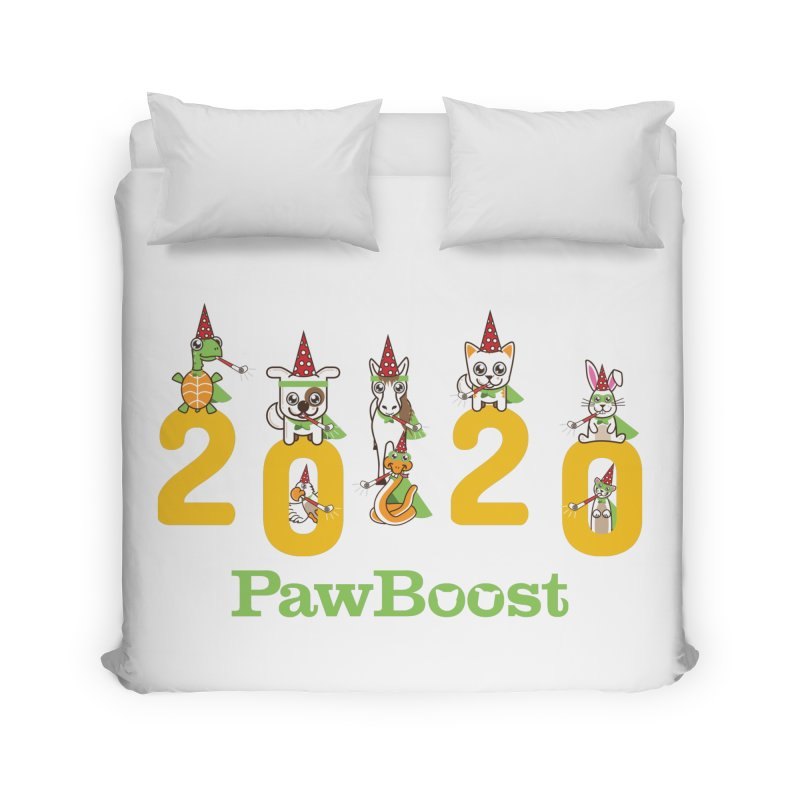 Hello 2020! Home Duvet by PawBoost's Shop