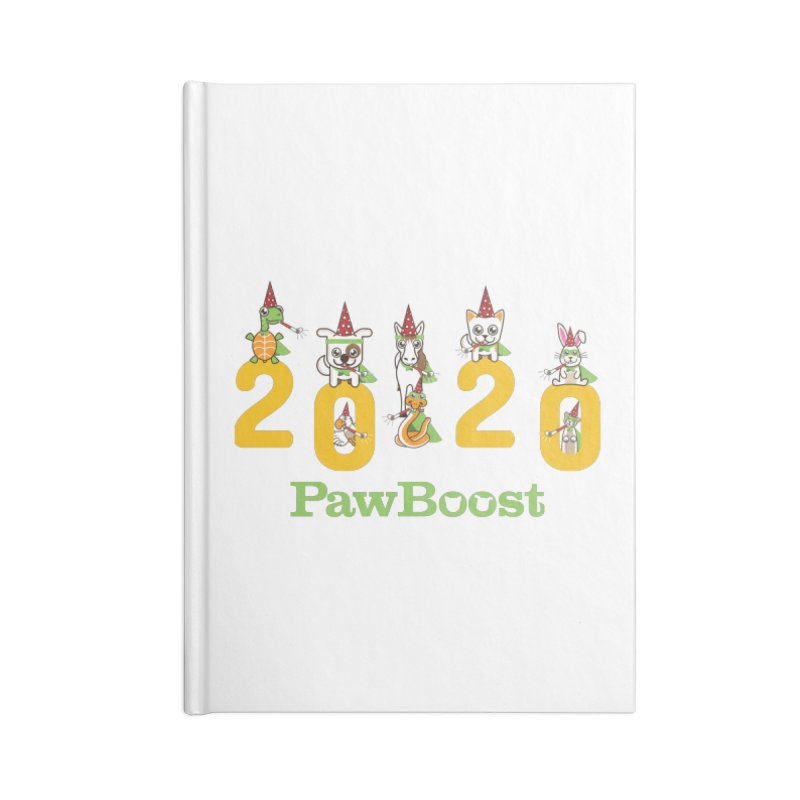Hello 2020! Accessories Blank Journal Notebook by PawBoost's Shop