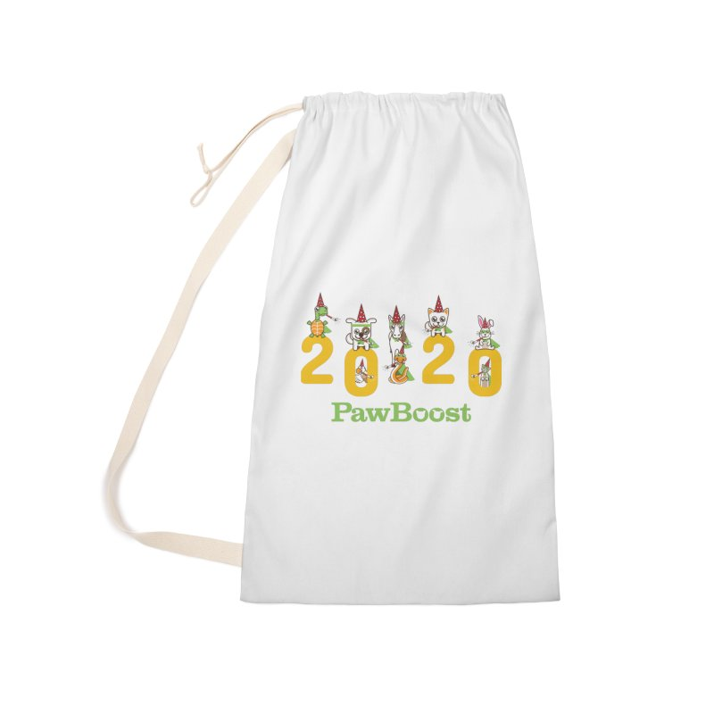 Hello 2020! Accessories Laundry Bag Bag by PawBoost's Shop