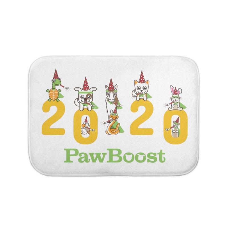 Hello 2020! Home Bath Mat by PawBoost's Shop