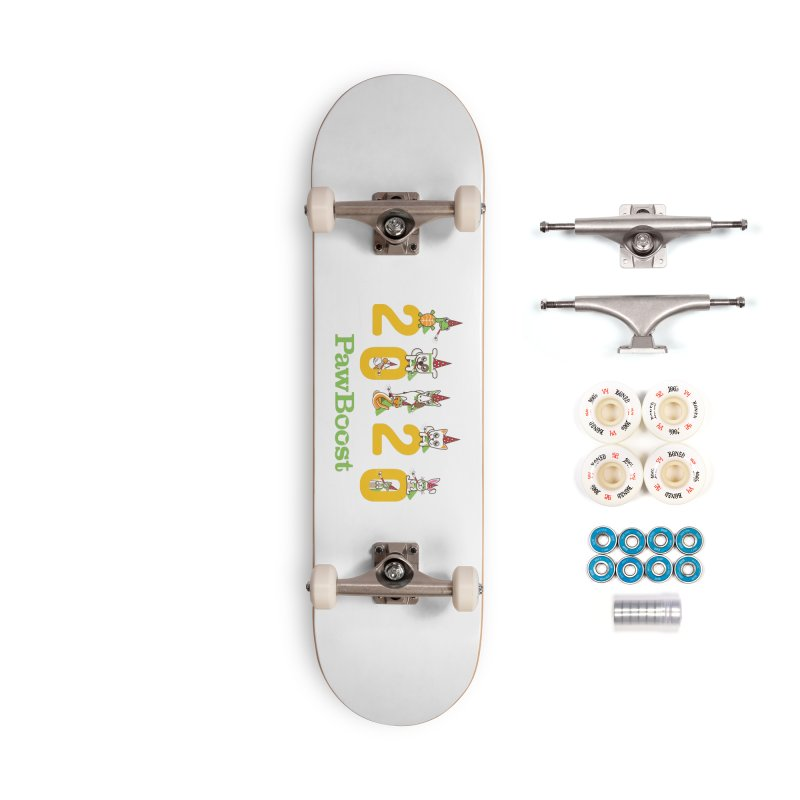 Hello 2020! Accessories Complete - Premium Skateboard by PawBoost's Shop