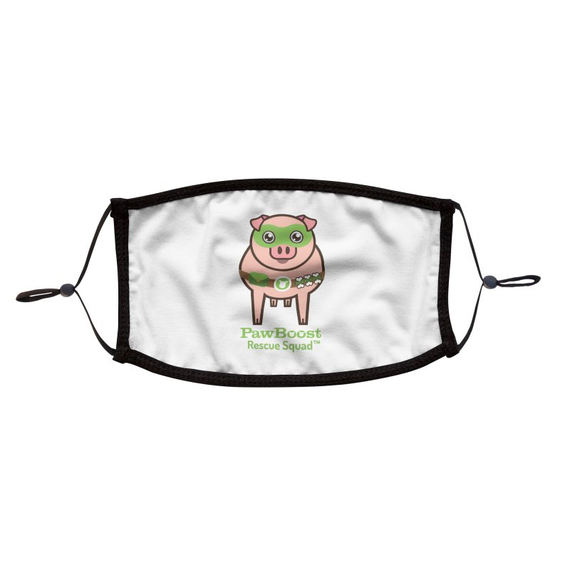 Presley (pig) Accessories Face Mask by PawBoost's Shop
