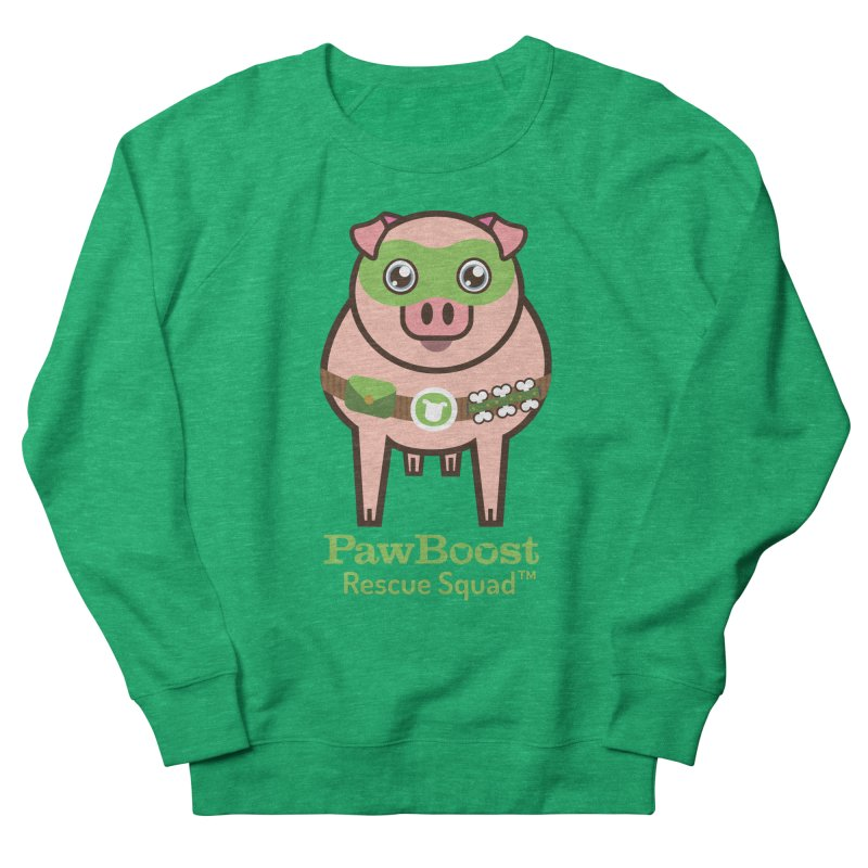 Presley (pig) Women's Sweatshirt by PawBoost's Shop