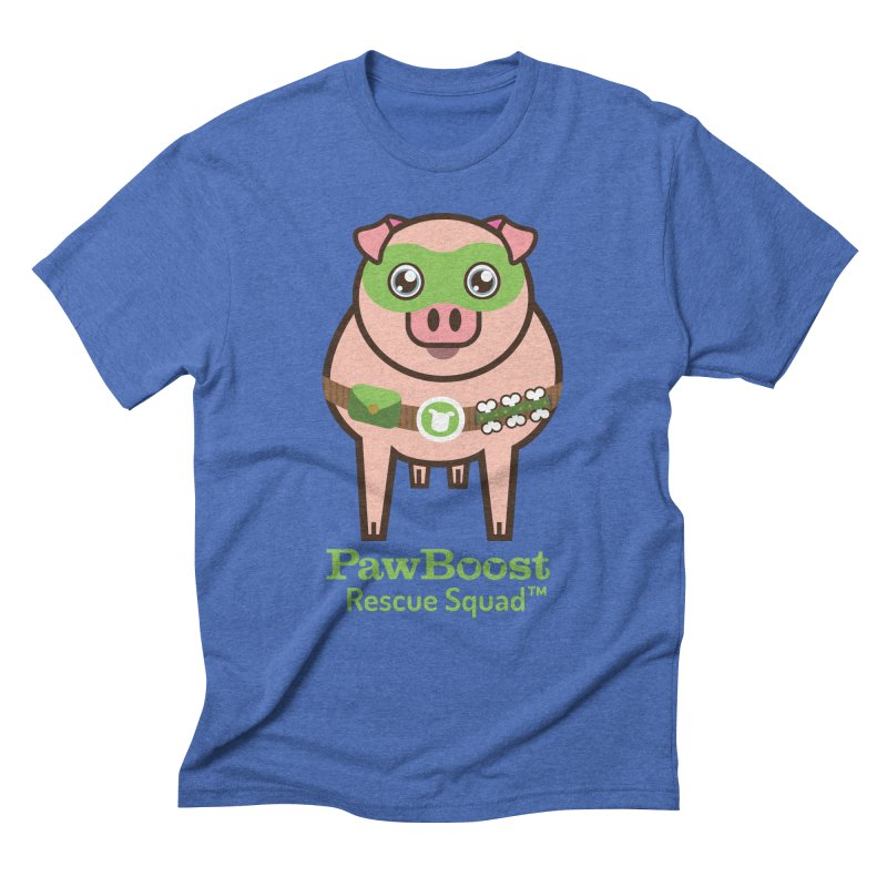 Presley (pig) Men's T-Shirt by PawBoost's Shop