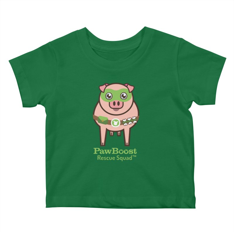 Presley (pig) Kids Baby T-Shirt by PawBoost's Shop