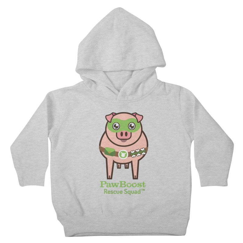 Presley (pig) Kids Toddler Pullover Hoody by PawBoost's Shop