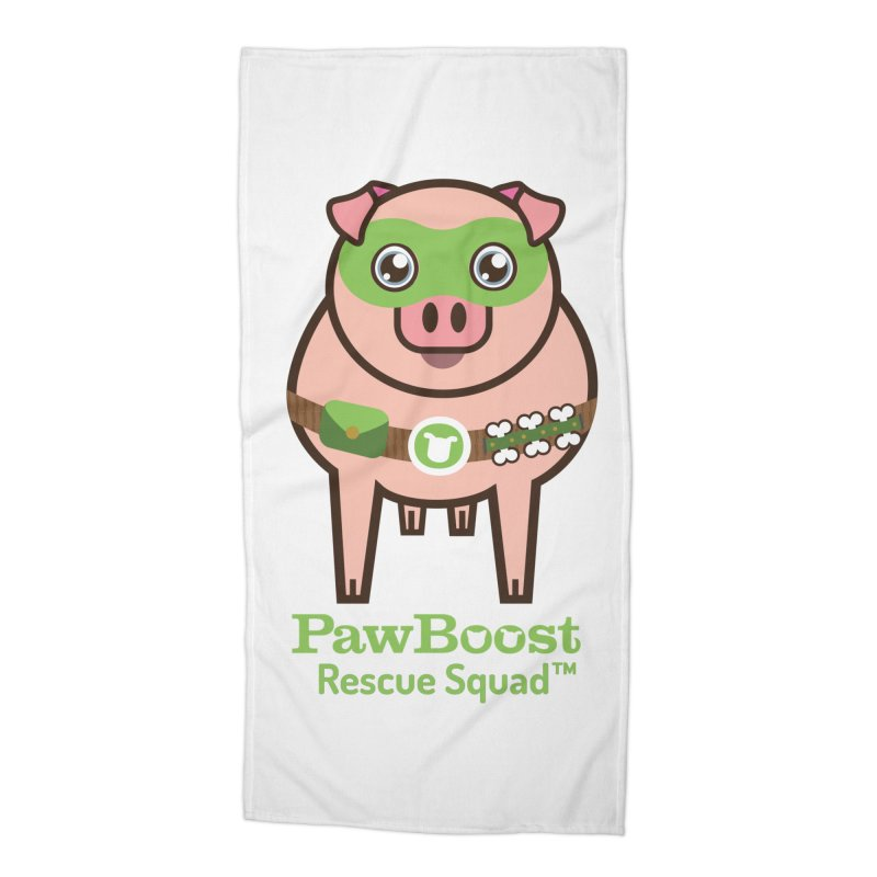 Presley (pig) Accessories Beach Towel by PawBoost's Shop